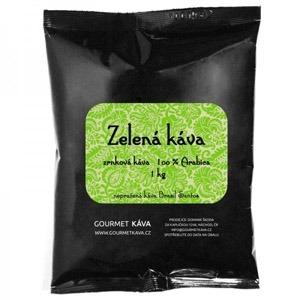 Mletá zelená káva